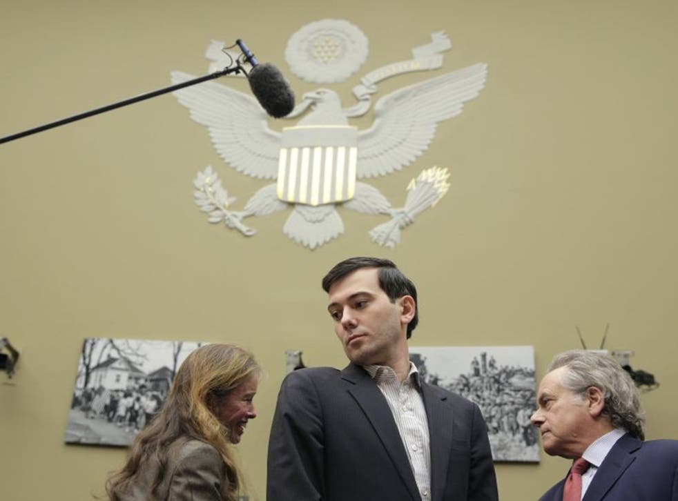 Poor man's Bond villain Martin Shkreli prepares to appear in front of Congress on Thursday
