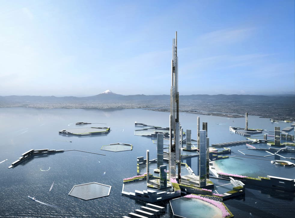 It will be 5,577ft tall when built
