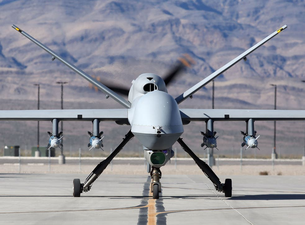 There are concerns that Reaper drones are already being used in Libya
