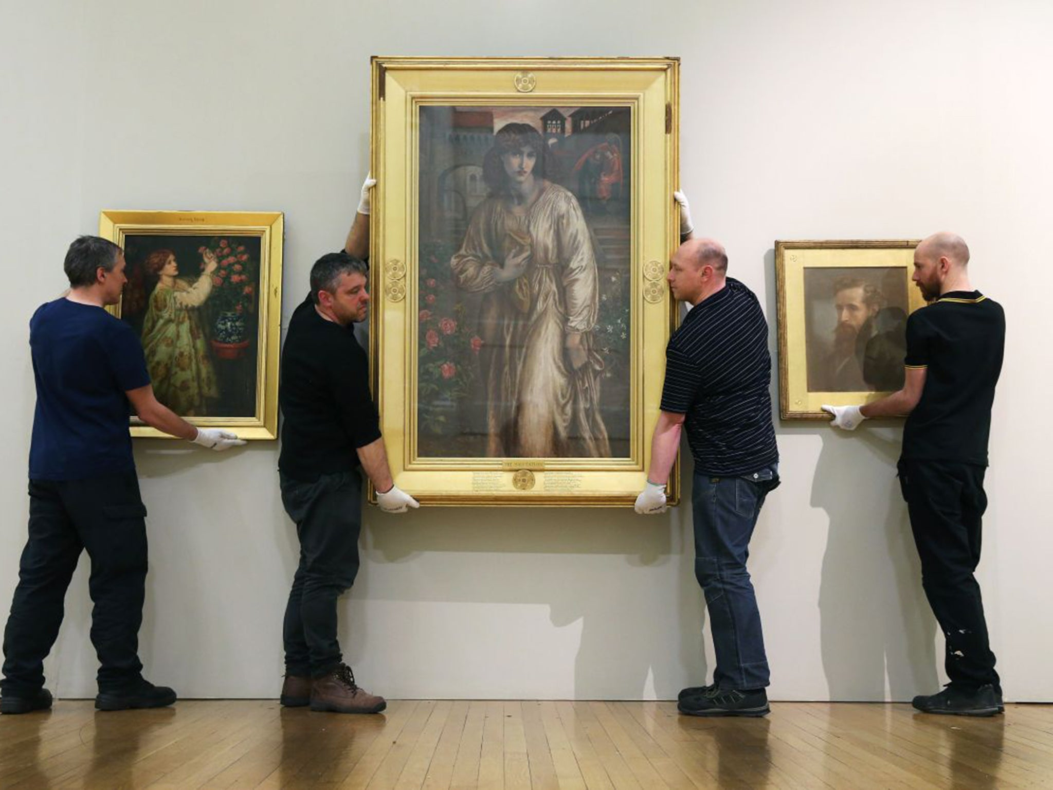Dante Gabriel Rossetti's hidden copy has been unveiled, 135 years on http://buff.ly/20CJzeL