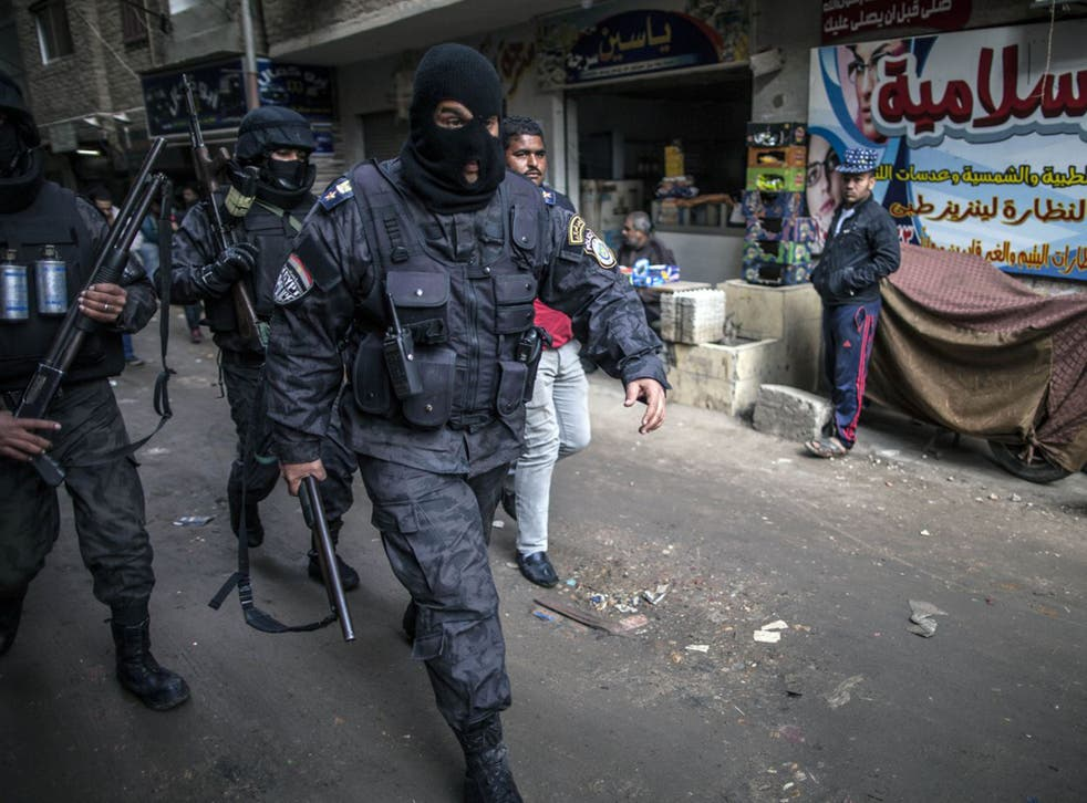 Egyptian police special forces are given state licence to terrorise all opponents of Sisi's regime