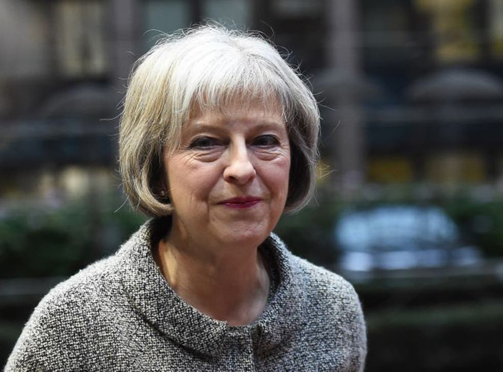 Ms May said tackling terrorism is the 'challenge of our generation'