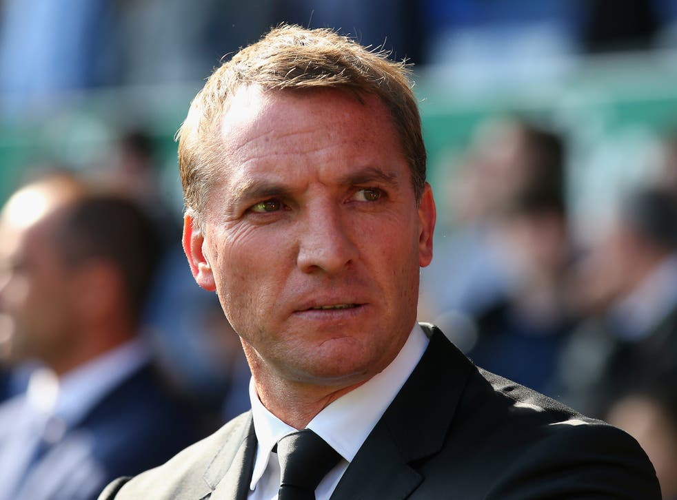 Former Liverpool manager Brendan Rodgers