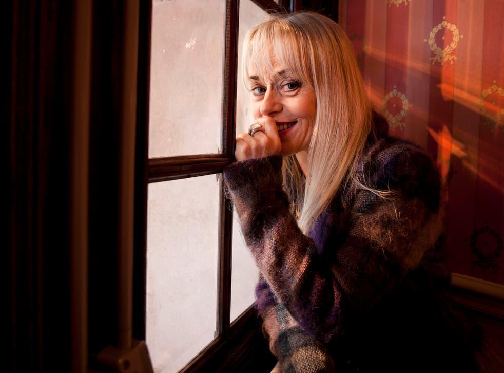 Actress Tracie Bennett