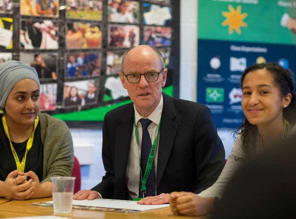 Nick Gibb has said taking exams earlier on could help pupils cope with stress