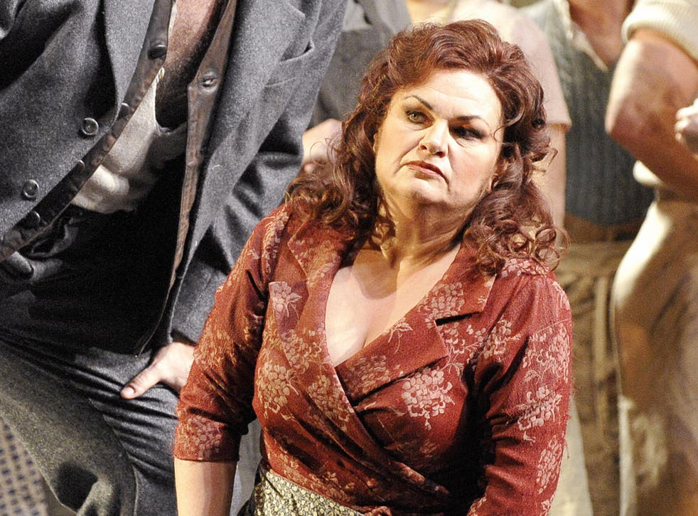Soprano Susan Bullock, here seen playing Katerina Ismailova in Lady McBeth of Mtsensk, feared the heart of the company could be 'ripped out' by the proposed plans