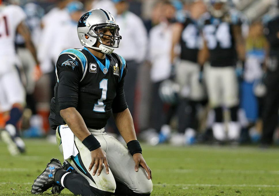 Cam Newton criticised for not jumping on ball following key Super ... ce47a8180