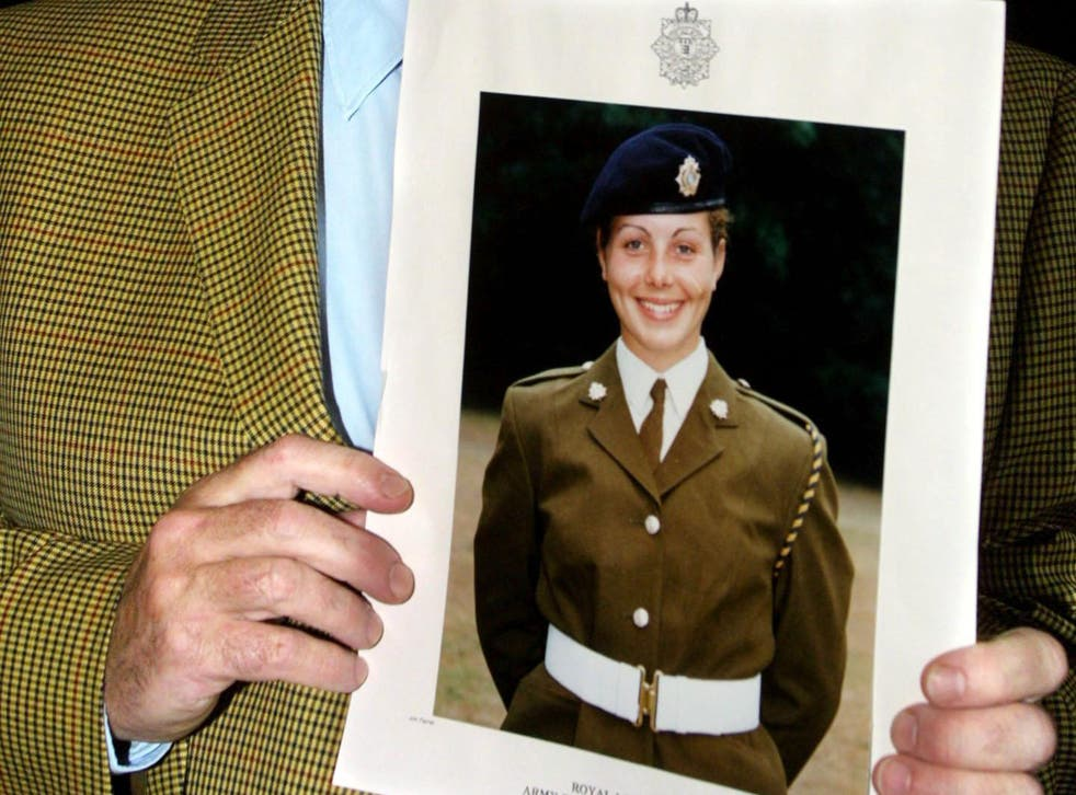 A photograph of 18-year-old Cheryl James who died in 1995
