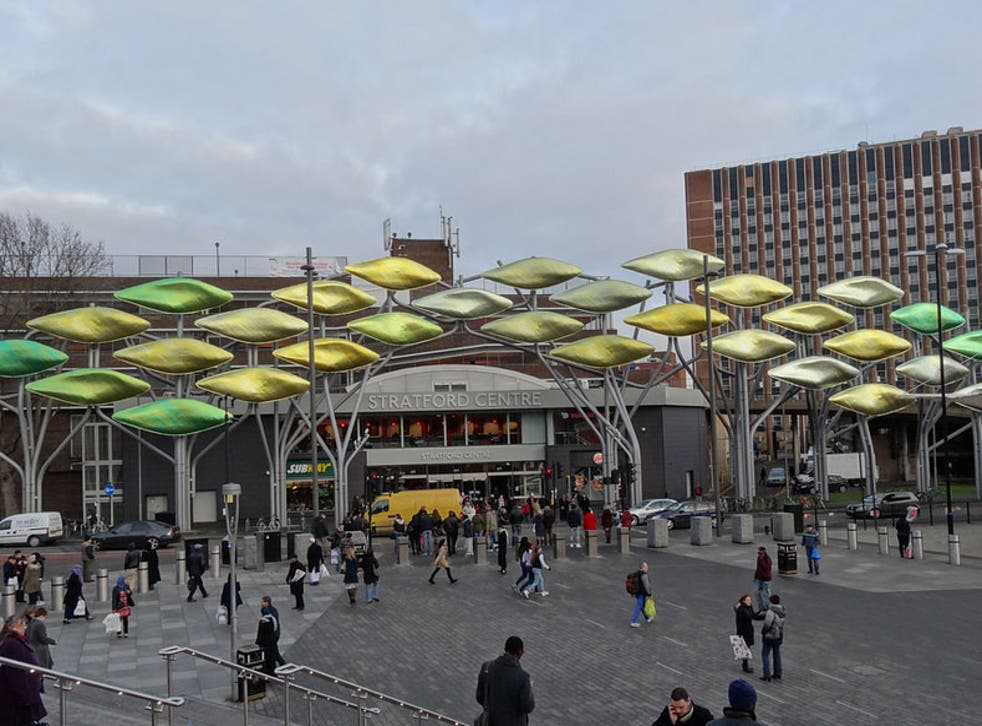 The Stratford Centre, east London