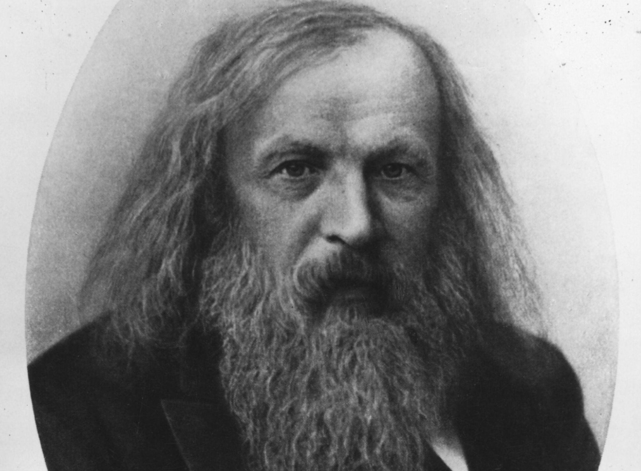 Dmitri mendeleev profile google doodle marks the 182nd birthday dmitri mendeleev profile google doodle marks the 182nd birthday of the man who invented the periodic table the independent gamestrikefo Image collections