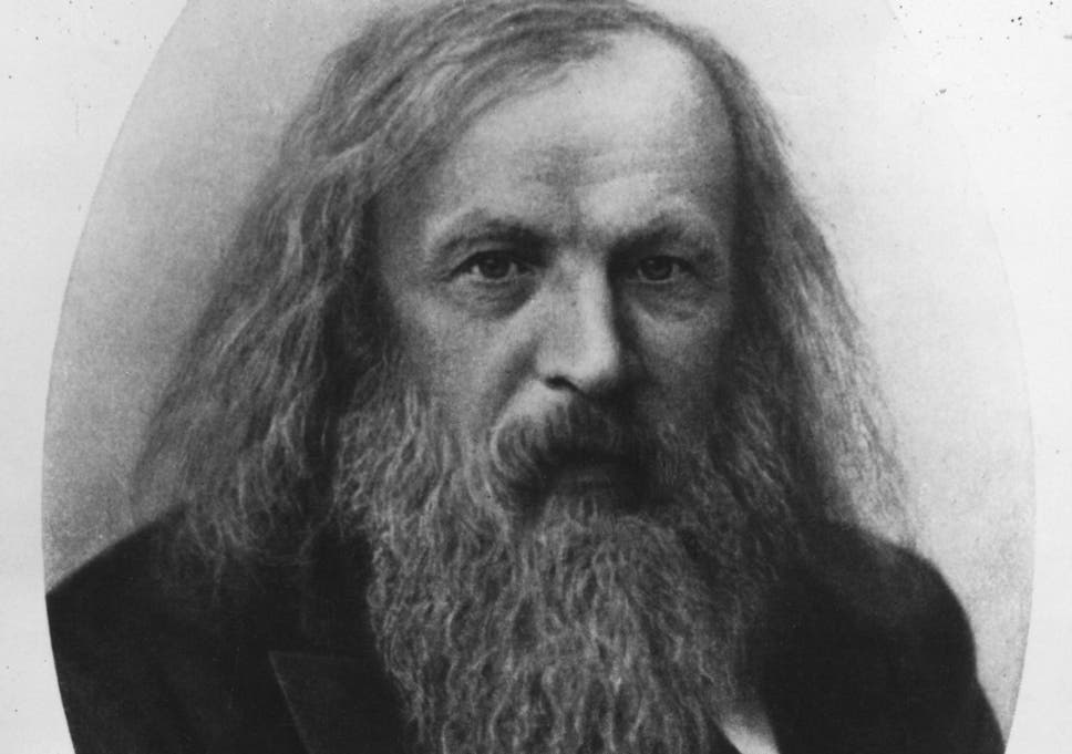 Dmitri Mendeleev Profile Google Doodle Marks The 182nd Birthday Of