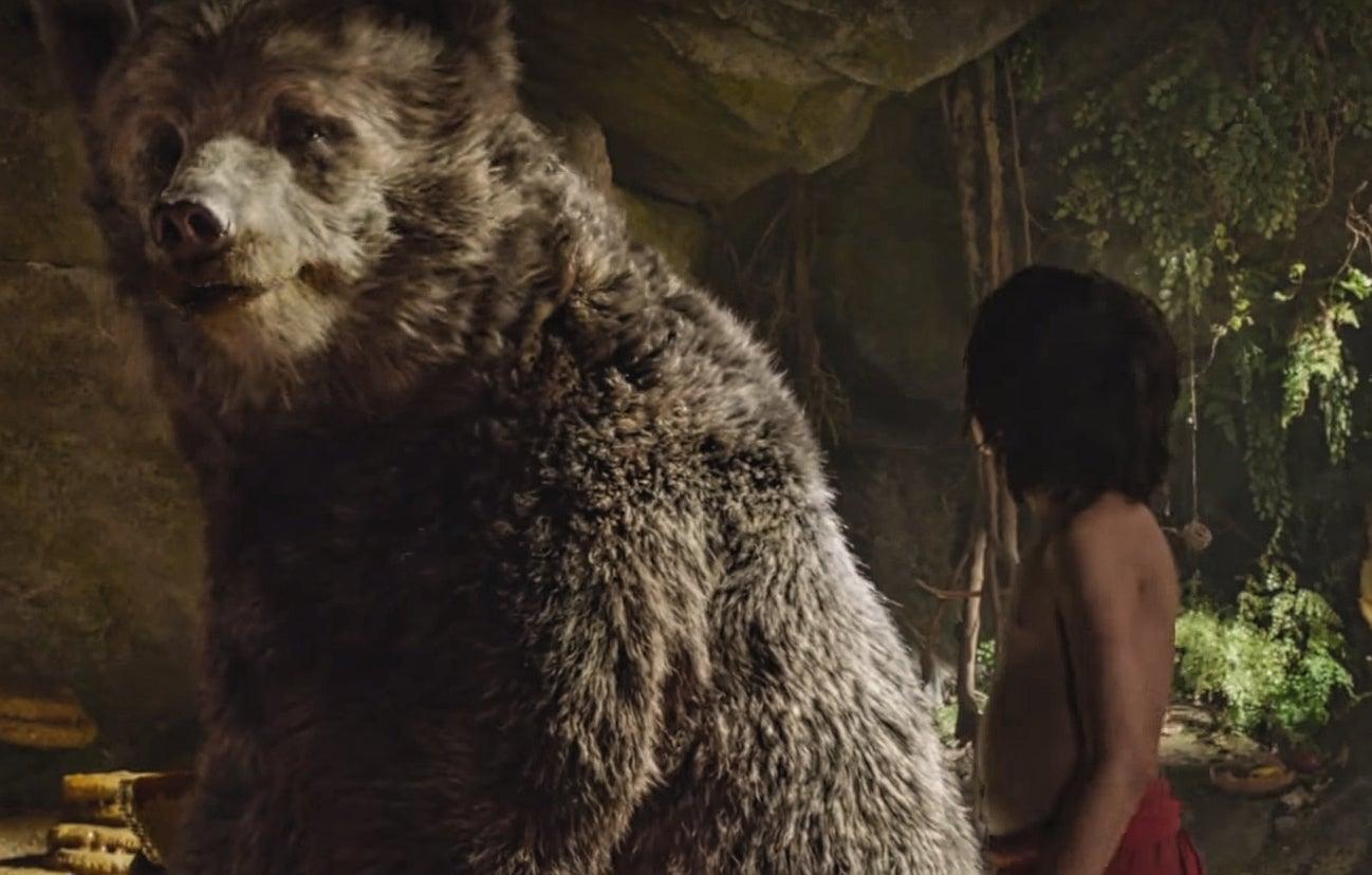 The jungle book trailer watch bill murray sing part of bear necessities the independent