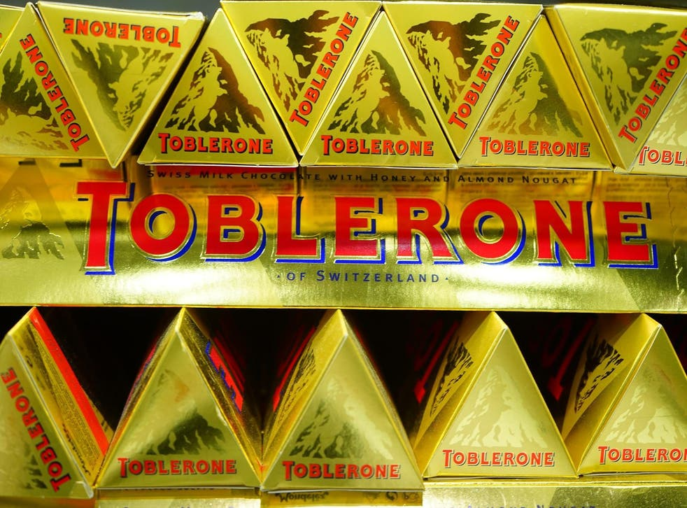 Fans are furious that Toblerone has changed its shape