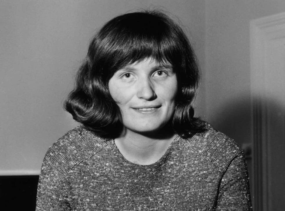 Forster in 1964: she had recently left her teaching job to write full-time