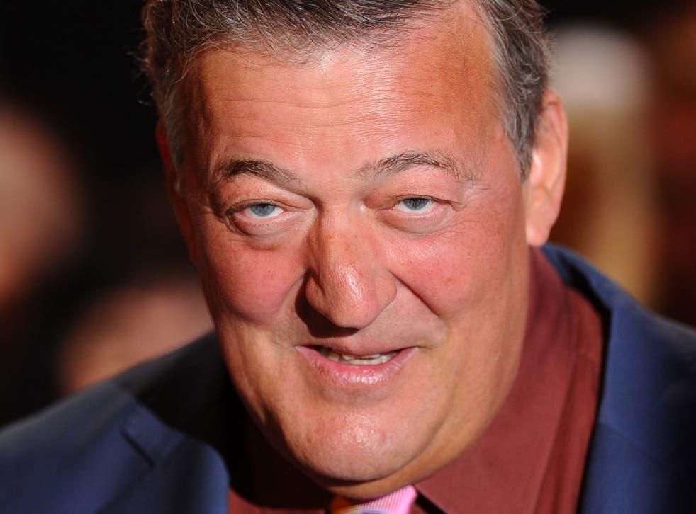 Stephen Fry described the politician, Simon Lokodo, as a 'foaming, frothing homophobe'