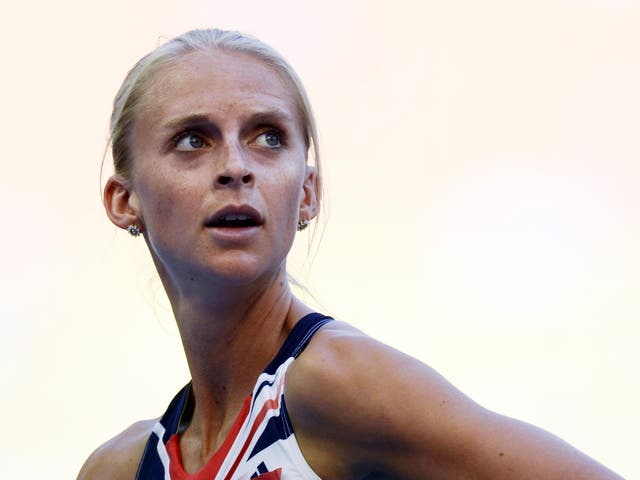 Great Britain middle-distance runner Hannah England