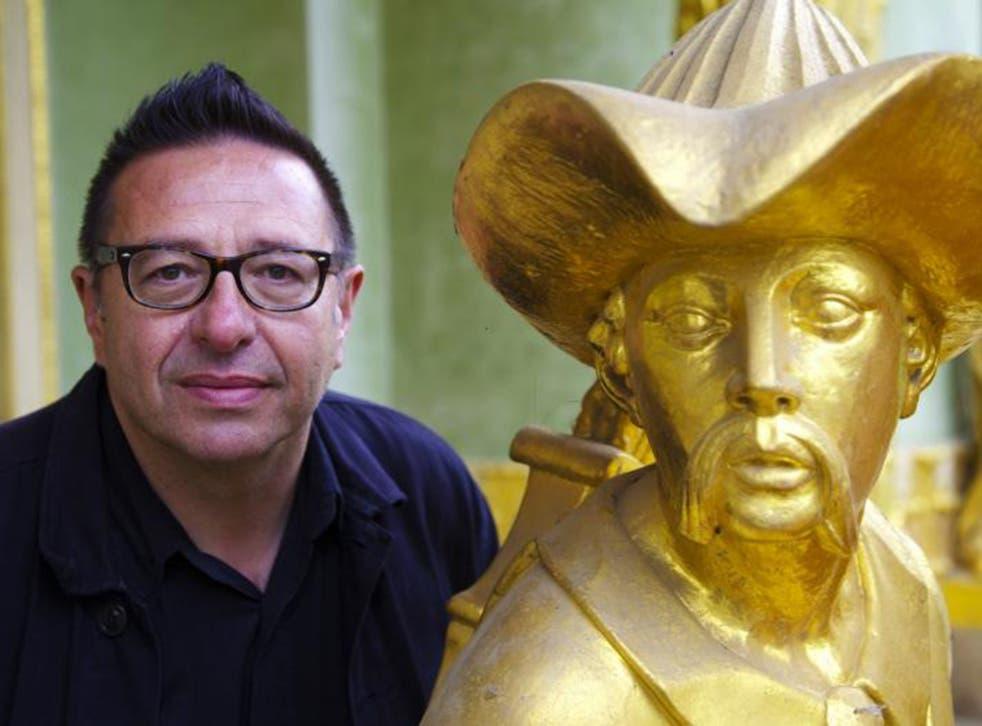 The BBC presenter, Waldemar Januszczak, whose latest series focuses on the Renaissance
