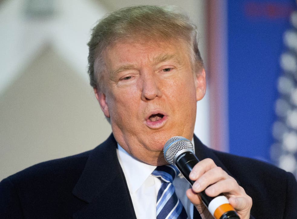 Mr Trump insisted he had the 'biggest heart in the room' when it came to Syrian refugees