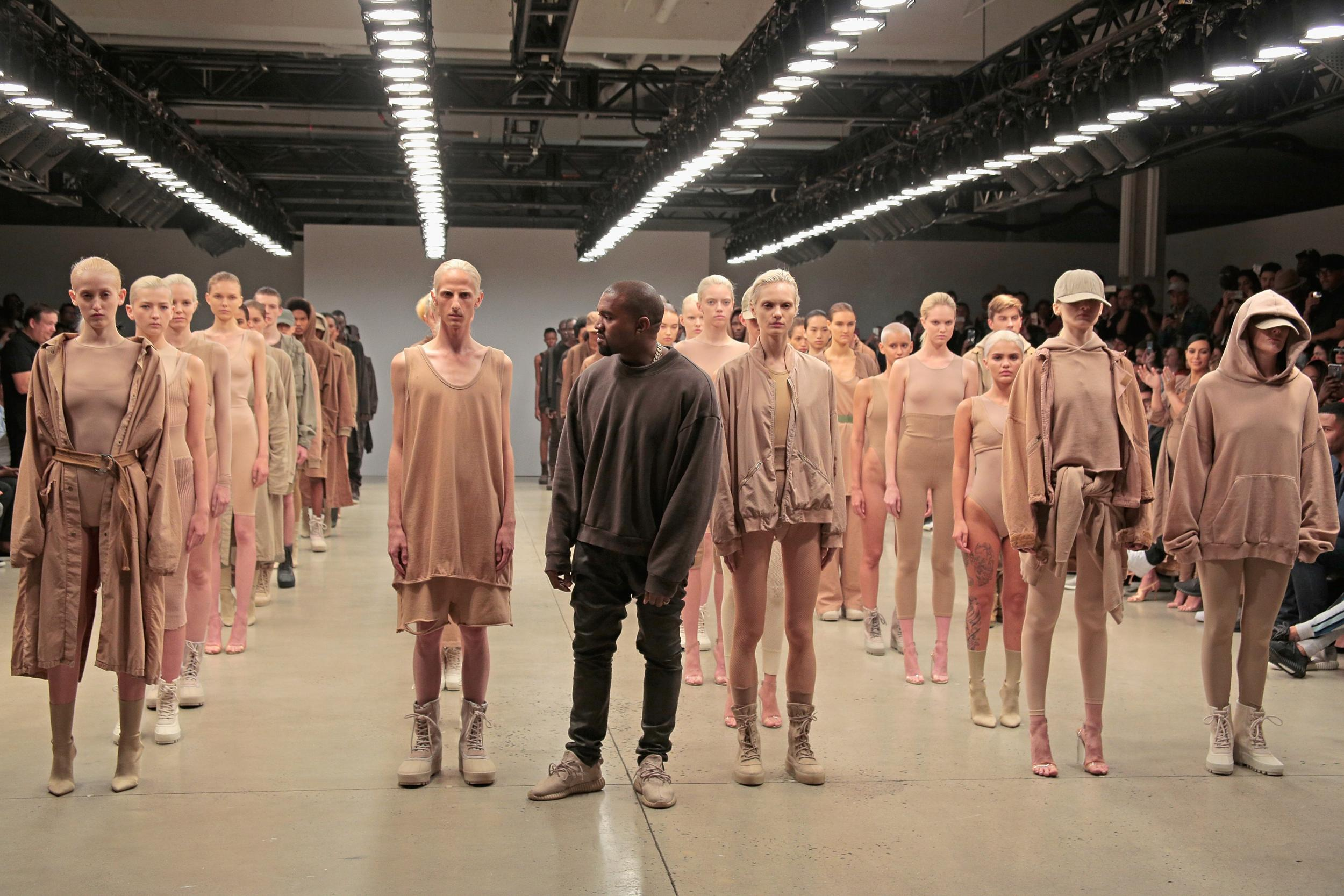 319821e95 Kanye West releases teaser images of Yeezy Season 3 ahead of New York  Fashion Week show