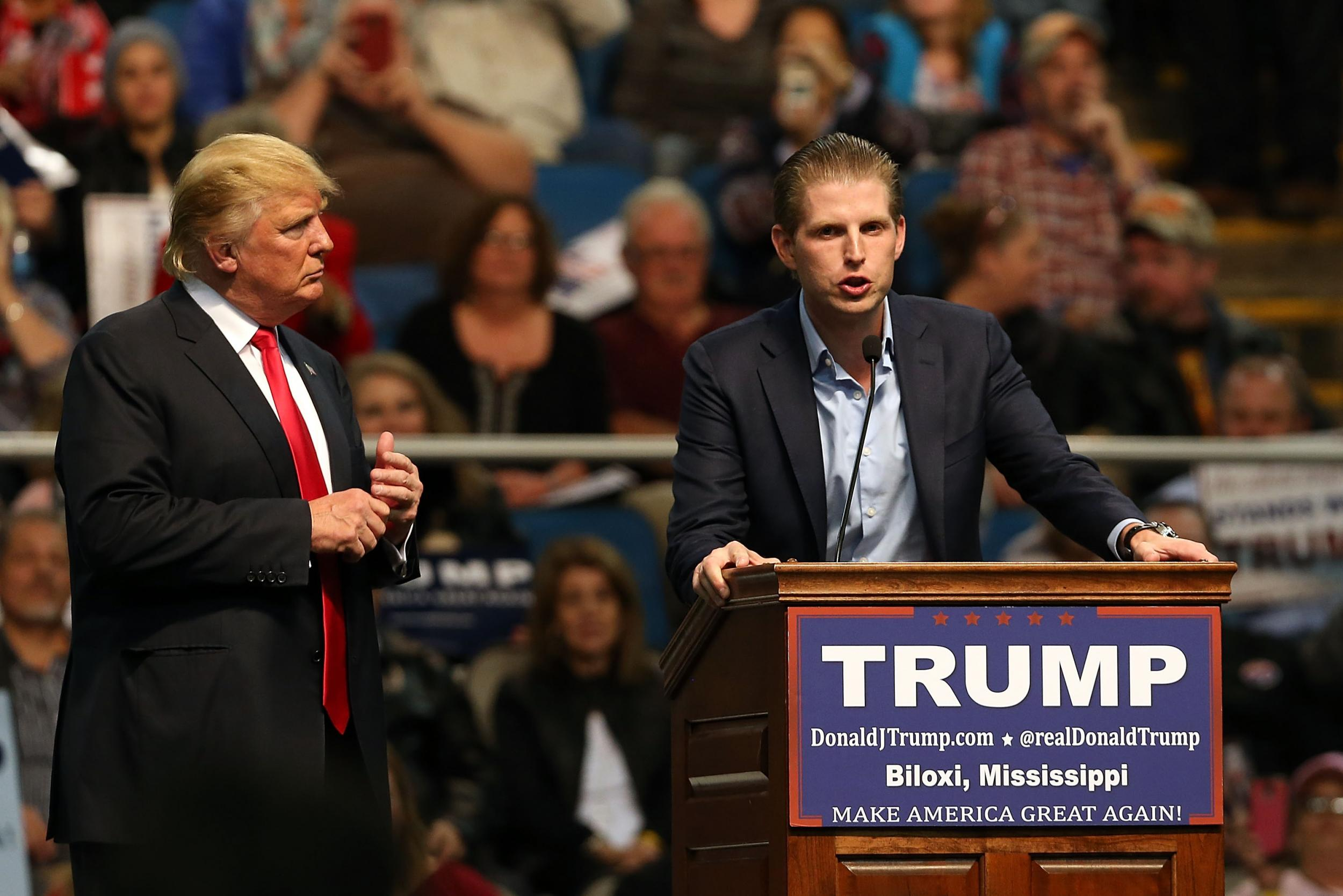 Donald Trump S Son Supports Father S Waterboarding Comments