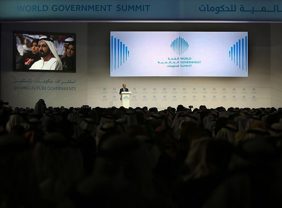 The World Government Summit in Dubai began on 7 February