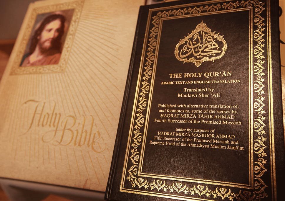 Violence more common' in Bible than Quran, text analysis