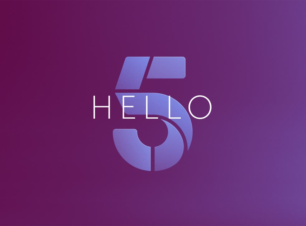 Say hello to Channel 5's 'newly dynamic logo'