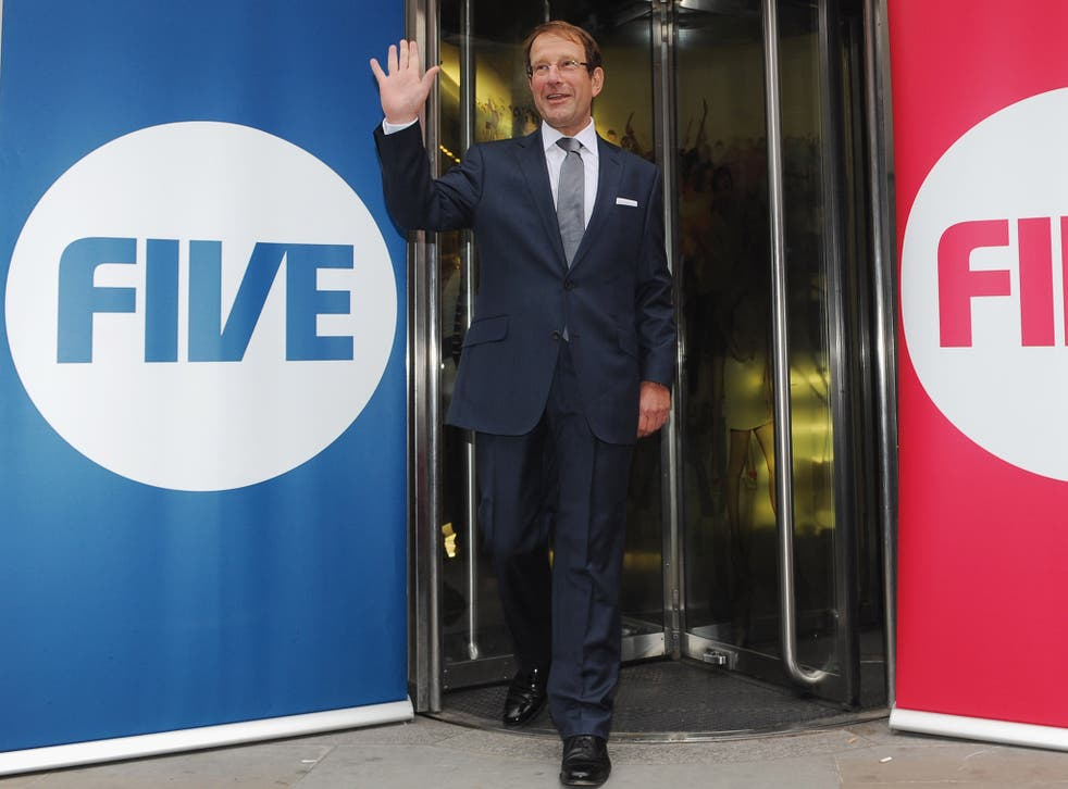 Media tycoon Richard Desmond bought Channel 5 in 2010 - and sold it in 2014
