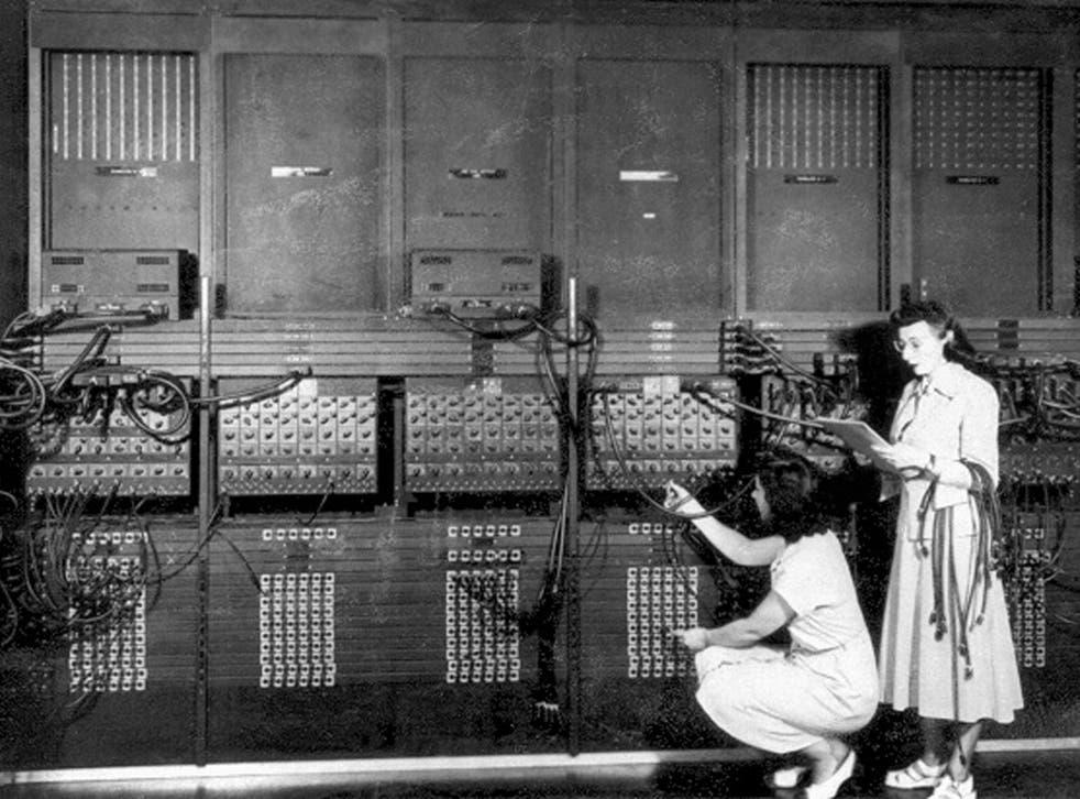 ENIAC was programmed entirely by women
