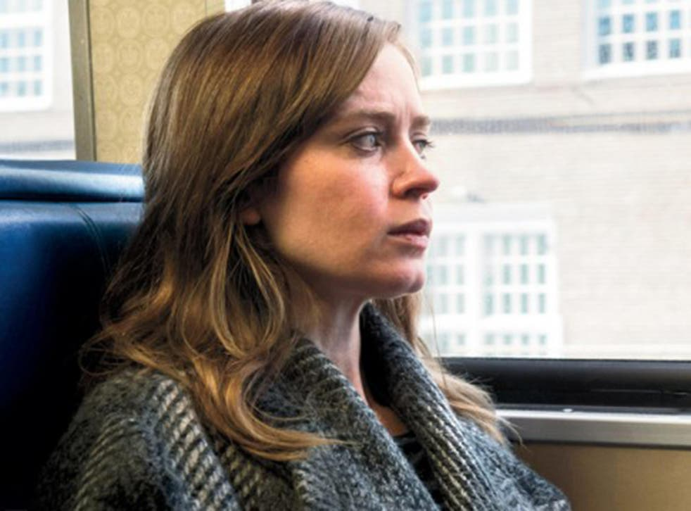 Emily Blunt conversely wears make-up to look less attractive in The Girl on the Train
