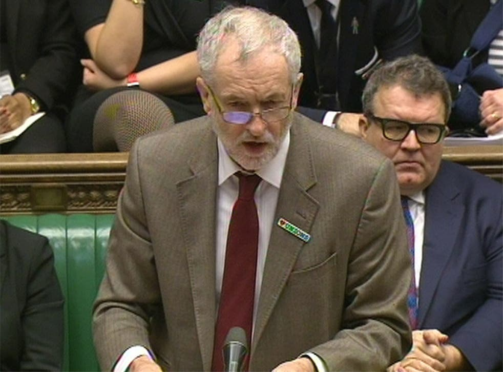 Corbyn said he too was in Brussels last week meeting with socialist colleagues