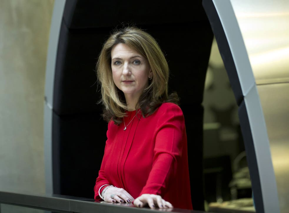 Victoria Derbyshire, who is undergoing treatment for breast cancer, presented the podcast All Together Now