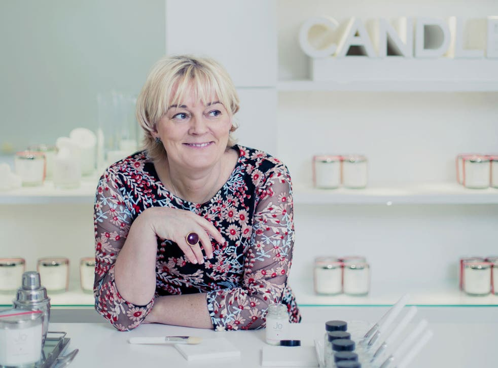Despite leaving school with no qualifications, Jo Malone has forged two hugely successful perfumery brands