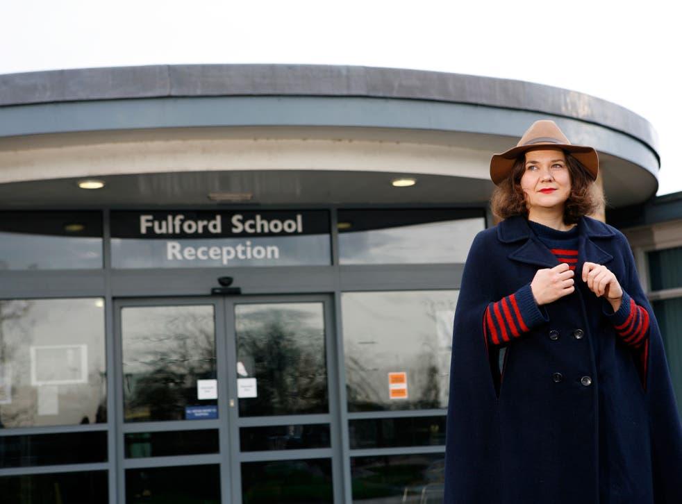 Memory lane: Sophie Heawood returns to school