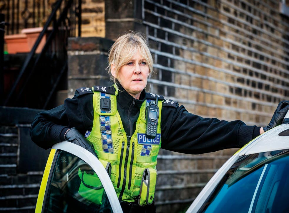Sarah Lancashire in series two of 'Happy Valley'