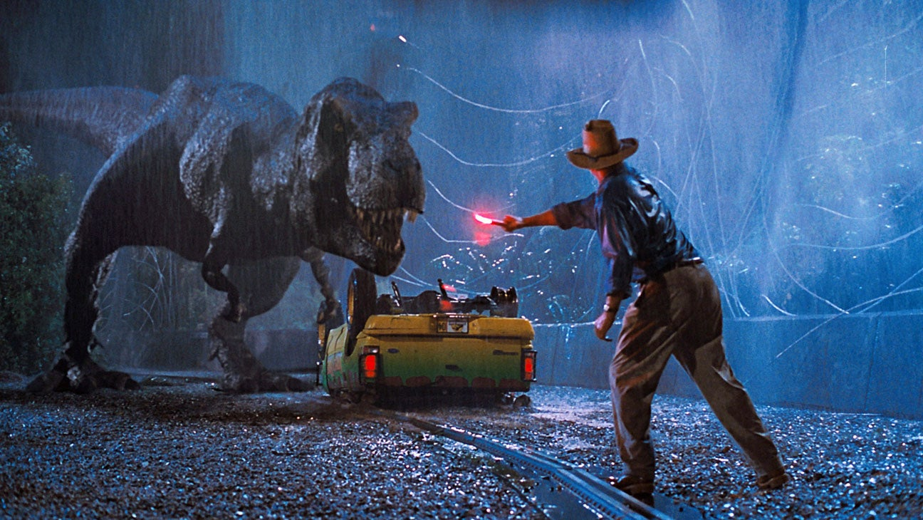 Elicottero Jurassic Park : Jurassic park and independence day to be screened with a