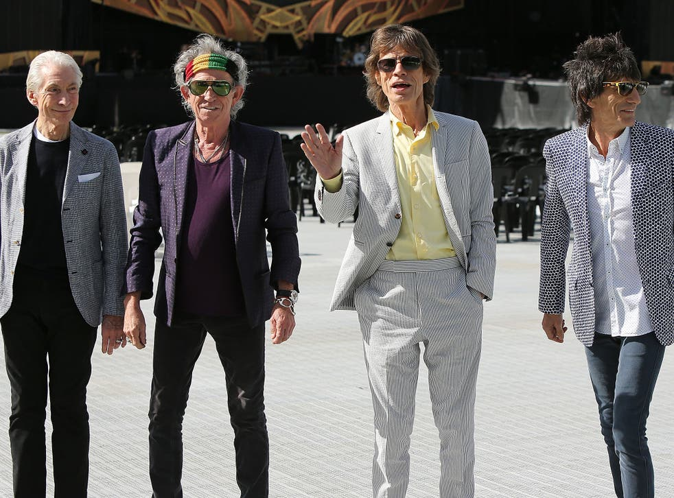 'The band was not asked for permission to use the songs,' a spokeswoman for The Rolling Stones said