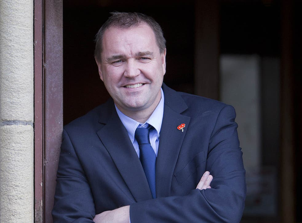 Neil Findlay, on the left wing of the Scottish Labour party, describes himself as a socialist