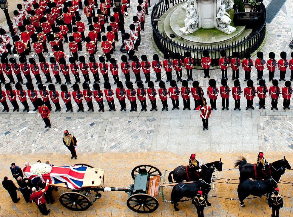 Operation True Blue: Whitehall plan for Margaret Thatcher's funeral