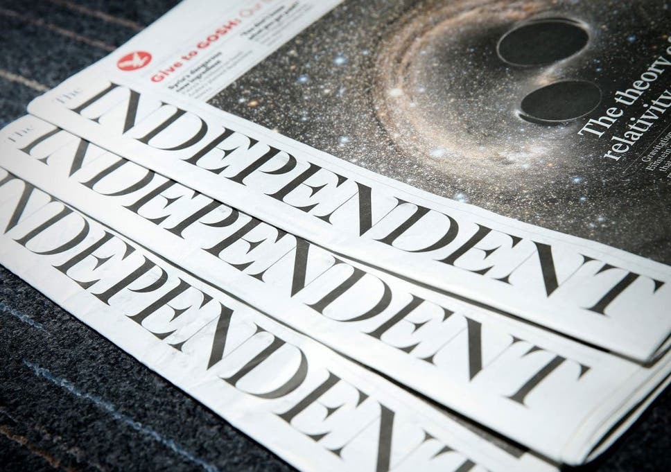 The Independent Becomes The First National Newspaper To Embrace A