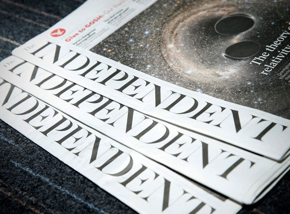 The Independent will cease as a print publication at the end of March