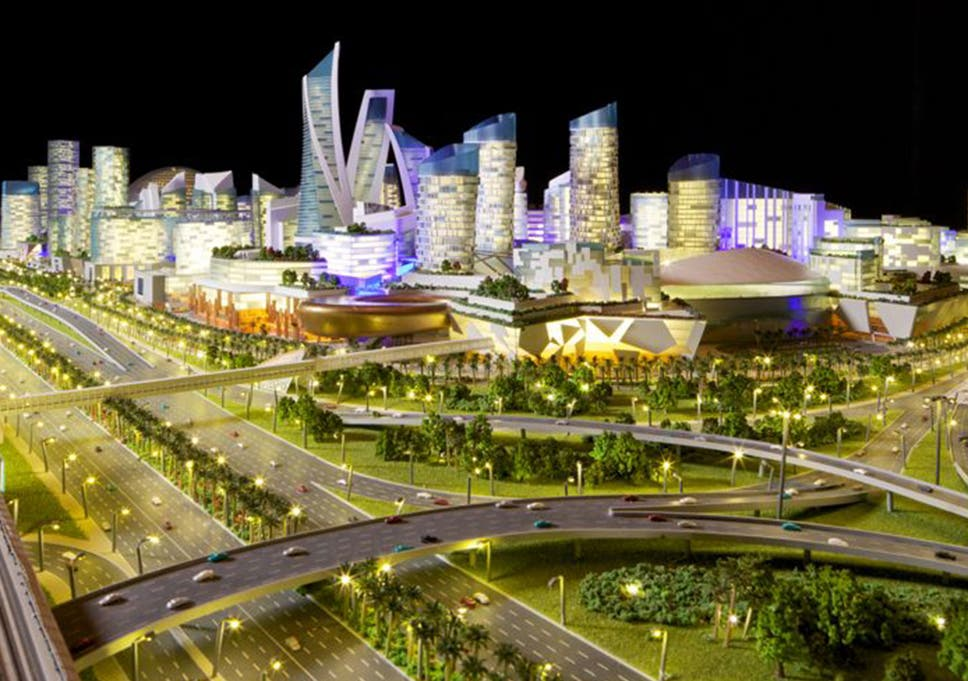 A concept design for the Mall of the World