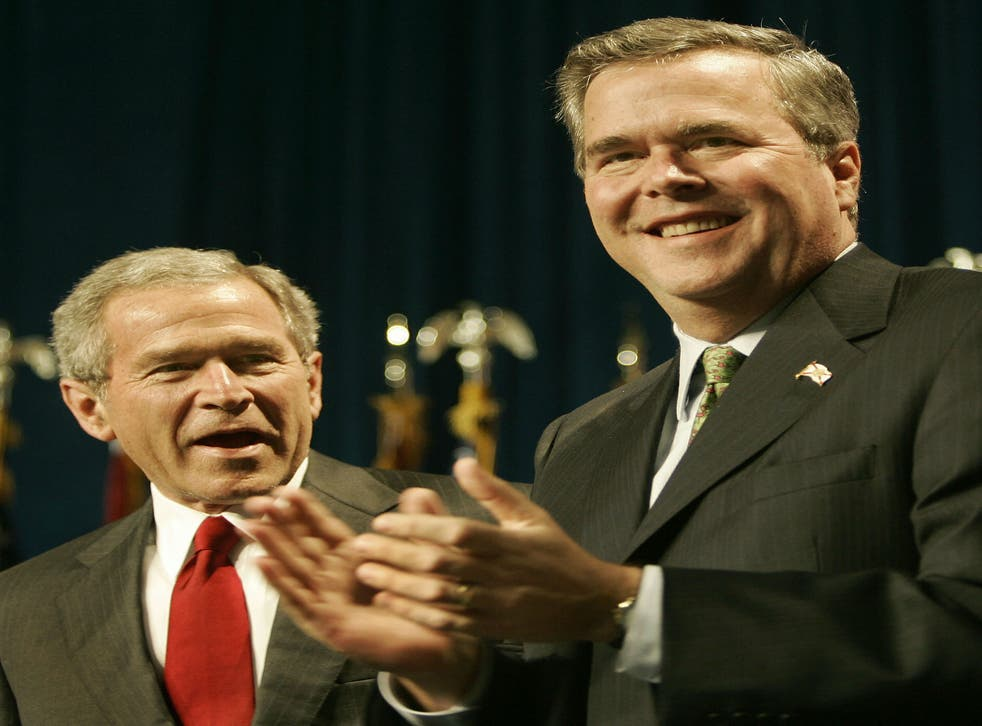 George W Bush plans to appear at a rally in North Charleston