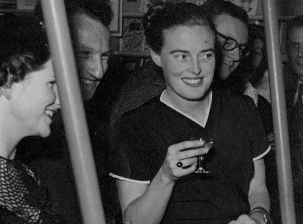Astute judgement: Schmoller at a Penguin Books party, c1950
