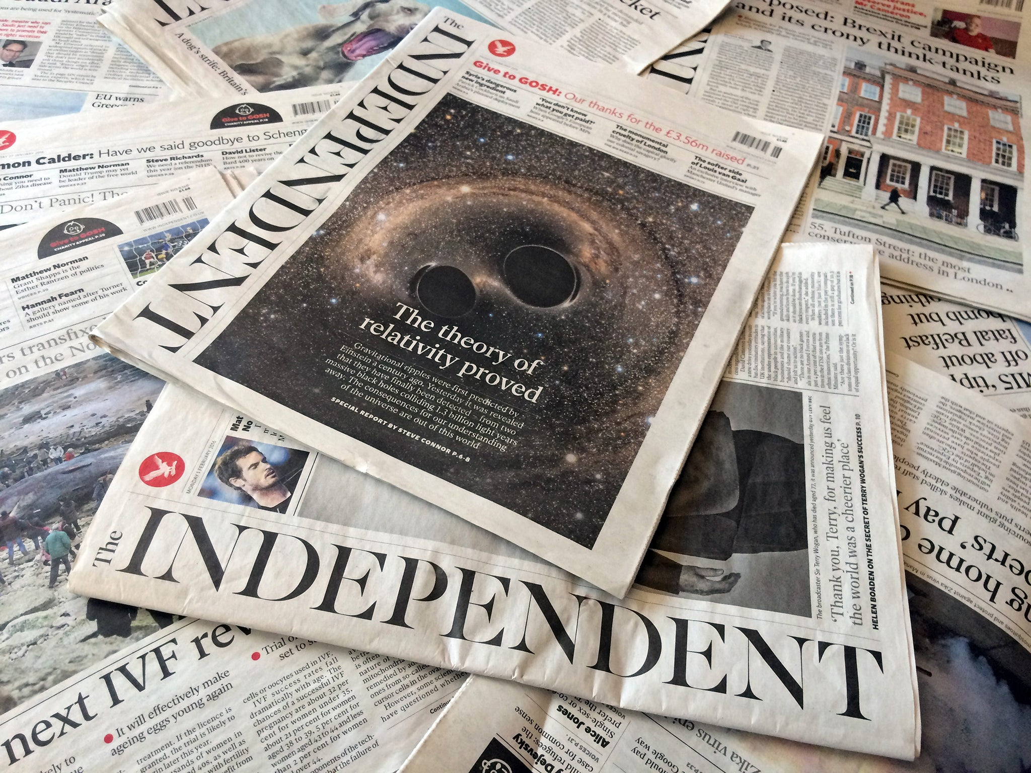 independent paper The independent is a british online newspaper established in 1986 as an independent national morning newspaper published in london, it was controlled by tony o.