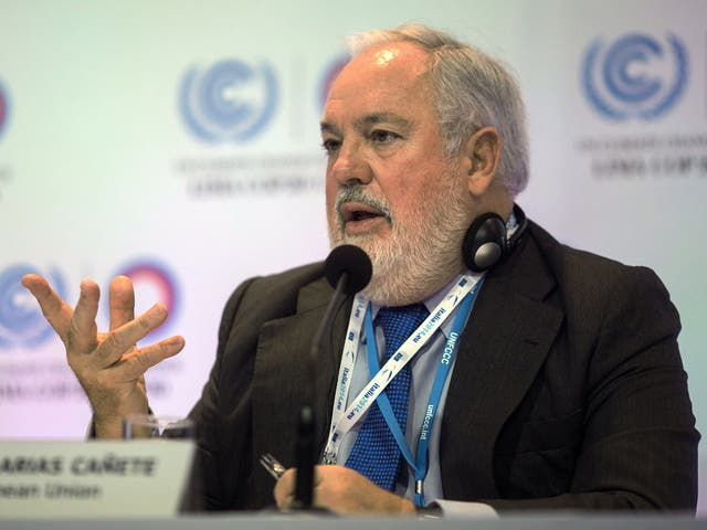 """The EU Energy Commissioner, Miguel Arias Canete, said this week the aim """"is simple: to prevent and mitigate possible security of gas supply crises"""""""