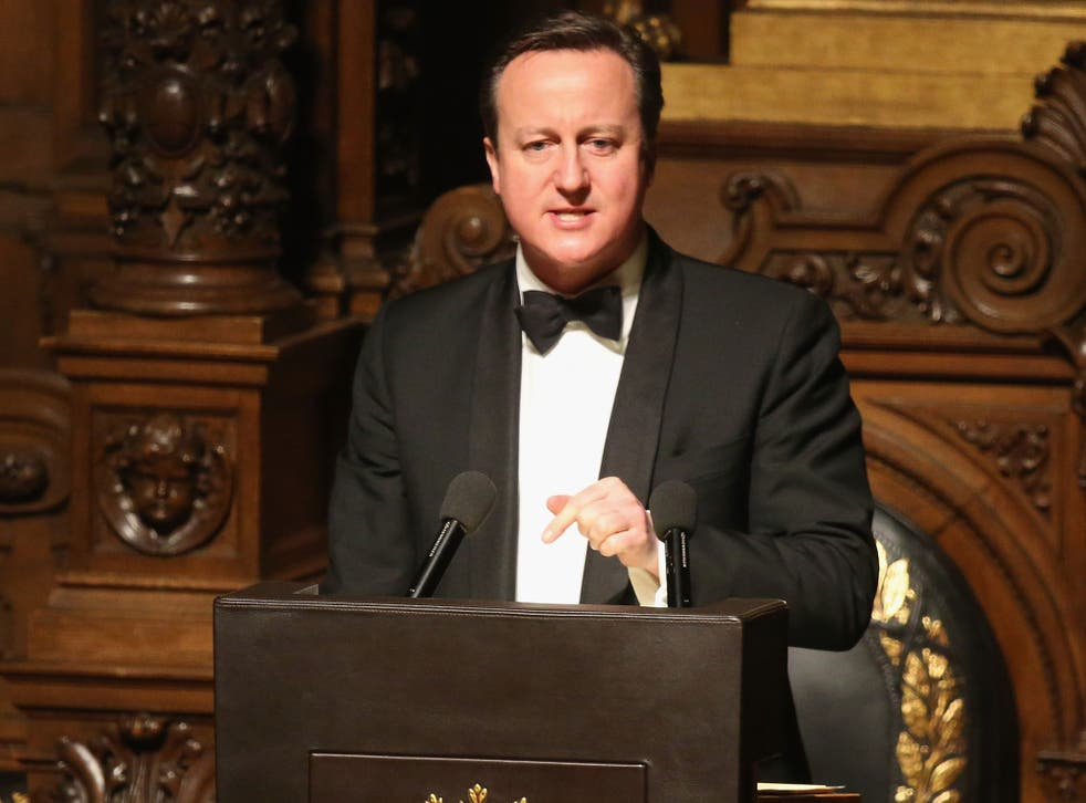 Cameron made his comments in a speech in Hamburg