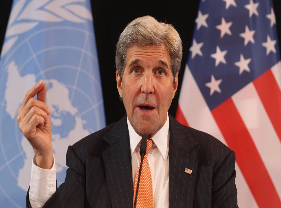 John Kerry was speaking at the annual Munich security conference