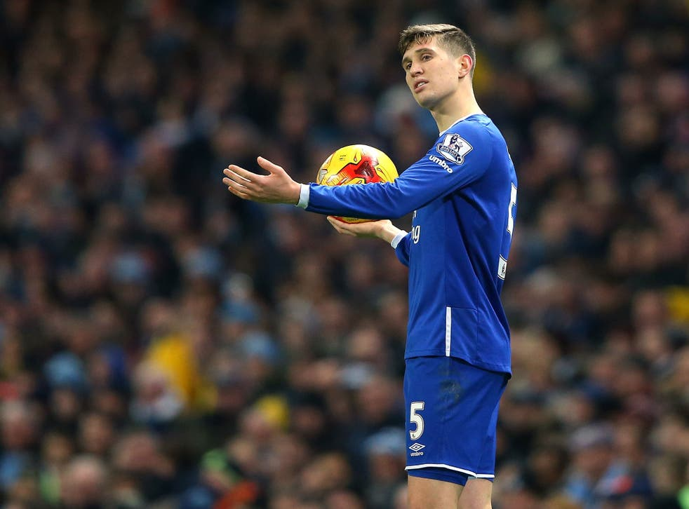 John Stones could return for Everton against West Brom