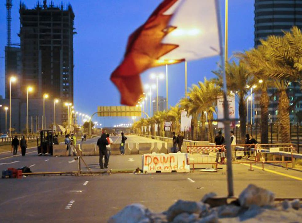 Road rage: Dozens died in anti-government protests in Bahrain in 2011